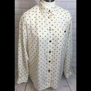 JH Collectibles Sz 12 polka dot blouse